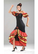 Spanish Lady Women Costume