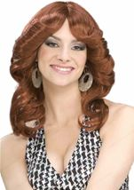 Adult 70s Disco Doll Wig