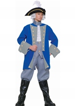 Colonial General Men Costume