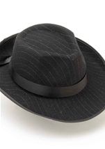 Fedora Hat Pinstriped