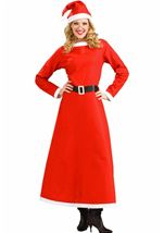 Classic Mrs Santa Women Christmas Costume