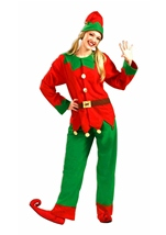 Christmas Santas Elf Adult Costume