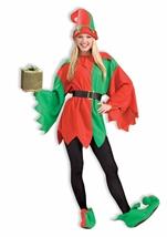 Santas Helper Unisex Adult Elf Halloween Costume
