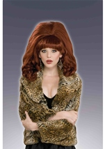Big Red Women Wig