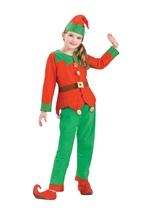 Kids Unisex Simply Elf Halloween Costume
