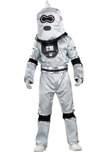 Deluxe Men Robot Costume