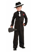 Kids Littlest Gangster Black Suit