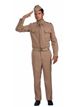 Men War Hero Costume