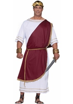 Caesar Men Plus Costume