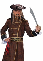 Captain John Longfellow Men Pirate Halloween Costume