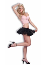 Women Petticoat Black
