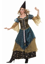 Sorcerer Woman Deluxe Witch Costume