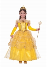 Fairy Tale Golden Beauty Costume
