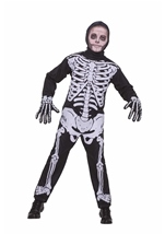 Boys Classic Skeleton Halloween Costume