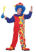 Kids  Clown Circus Costume