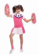 Girls Classic Cheerleader Costume