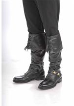 Deluxe Pirate Men Boot Top Covers
