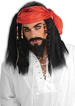 South Seas Buccaneer Wig