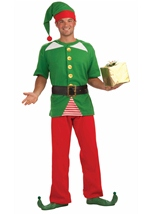 Jolly Elf Men Costume