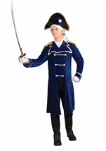 Deluxe Admiral  Patriotic Colonial Men Costume
