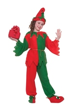 Santas Helper Elf Kids Unisex Christmas Halloween Costume