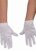 Child Theatrical White Gloves