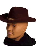 Deluxe Cowboy Hat Brown