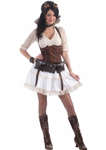 Adult Steampunk Sally Woman Costume