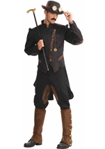 Steampunk Gentleman Men Costume