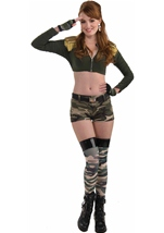 Combat Cutie Camouflage Shorts