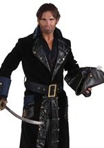 Deluxe Blackbeard Pirate Men Costume