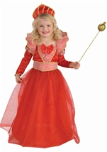 Ruby Queen Kids Princess Costume