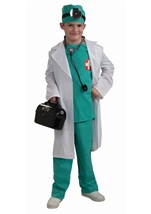 Chief Surgeon Kids Doctor Costume