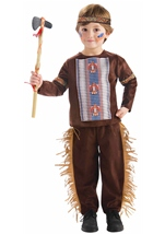 Toddler Native American Brave Costume