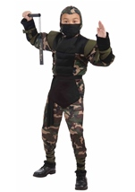 Secret Striker Force Ninja Costume
