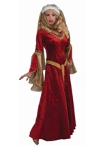 Renaissance Queen Medieval Woman Costume