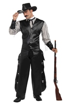 West Rogue Gambler Men Cowboy Costume