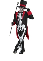 Boys Bone Jangles Halloween Costume