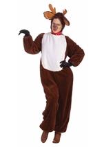 Deluxe Reindeer Unisex Adult Halloween Costume
