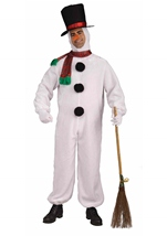Deluxe Snowman Adult Costume