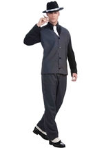 20s Gangster Men Deluxe Costume
