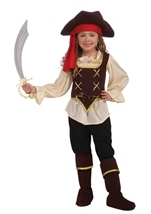 Buccaneer Girl Pirate Captain Costume