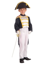 Colonial General Boys Costume