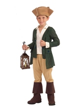 Paul Revere Boys Costume