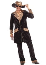 Big Cat Pimp Men Costume