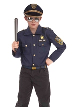 Boys Instant Police Costume