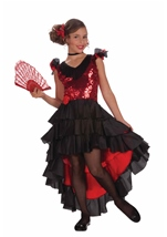 Spanish Dancer Girls  Costume