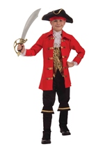 Pirate Captain Cutlass Boys Deluxe  Costume
