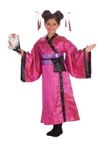 Geisha Pink Girls Costume