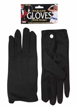 Black Snap Closure Adult Glove